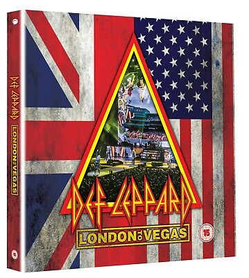 "Def Leppard - London to Vegas - New 2DVD/4CD 10"" Box Set - Pre Order 29th May"