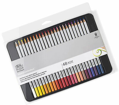 Winsor and Newton Precision Pencils Graphic Sketching Pencils Assorted in Metal