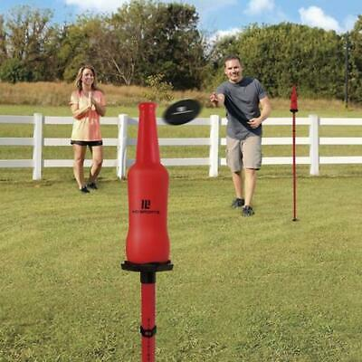 Strike The Bottle Built-in Scoring Outdoor Game Fun New
