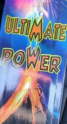 Ultimate Power Collectible Canister Shell Lables X6