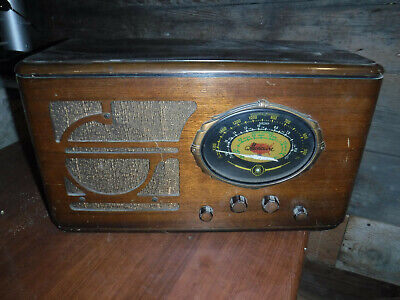 Vintage 1930'S Musicaire Tabletop Radio Made In The Usa Repairs L@@K