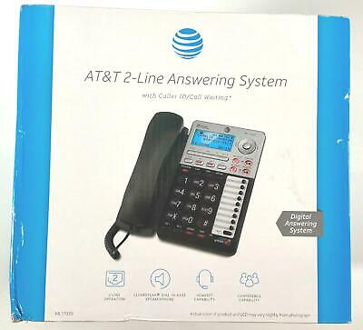 AT&T ML17939 2 Line Office Caller ID Speakerphone Answering Phone w Headset Jack