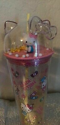 Hello Kitty Sanrio Cute Tumbler Dome Cup Limited Collection 2020 Yellow 22 Oz.