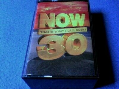 Now That's What I Call Music 30 Cassette Tape(s) (Double Album) - Near Mint Cond