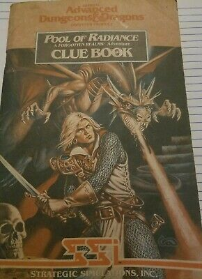Pool Of Radiance Forgotten Realms Cluebook