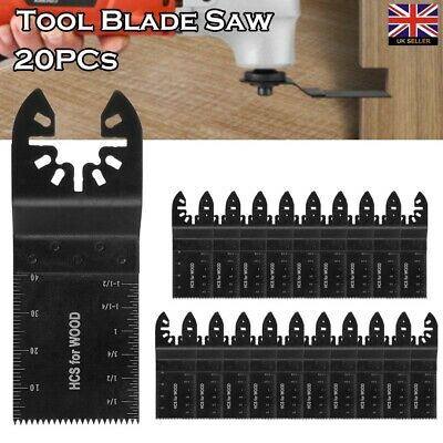 20 x Oscillating Multi Tool 34mm Saw Blades For De-walt Porter Cable Multitool