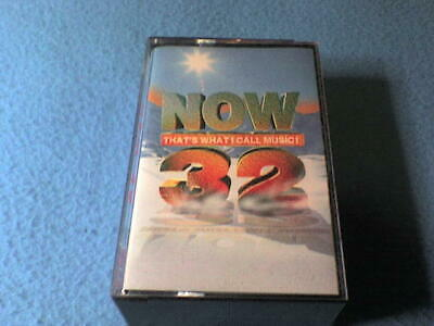 Now That's What I Call Music 32 Cassette Tape(s) (Double Album) - Near Mint Cond