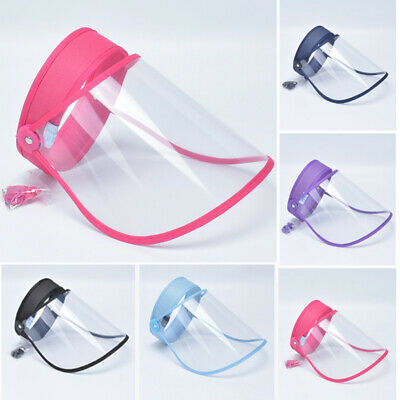 Transparent Head-mounted Protective Safety Full Face Eye Shield Screen Cover US