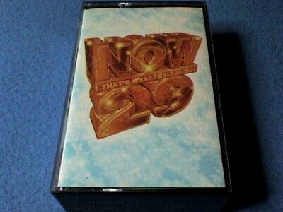 Now That's What I Call Music 29 Cassette Tape(s) (Double Album) - Near Mint Cond