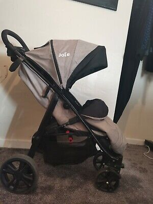 Joie litetrax 4 pushchair and footmuff