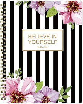 "July 2020 - June 2021 Academic Weekly & Monthly Planner Flexible Cover 8"" x 10"""
