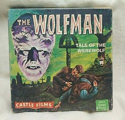 1950's The Wolfman Castle Films 8MM Movie w/ Original Box