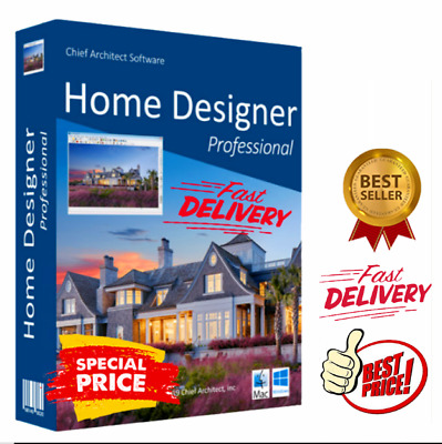 Chief Architect Home Designer Pro 2020 🔥✅Lifetime License 🔥Free fast shipping✅
