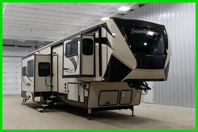 New 2020 Forest River Sandpiper 382VIEW Bunkhouse RV Camper Fifth Wheel