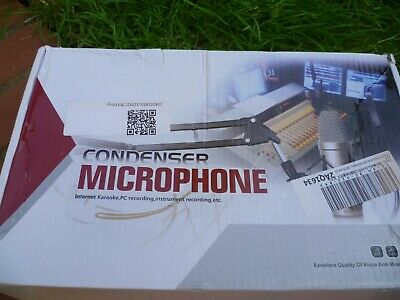 Pro Microphone BM800 Dynamic Condenser Wired Sound Studio for Singing Recording