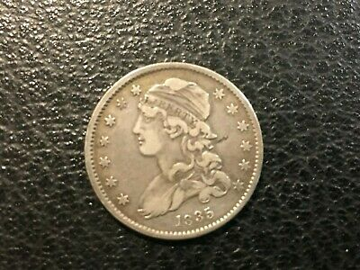 USA  1835 Bust Quarter -- Silver 25 Cents  -- Very Nice Condition!!