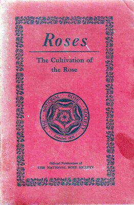 The National Rose Society Annual 1958
