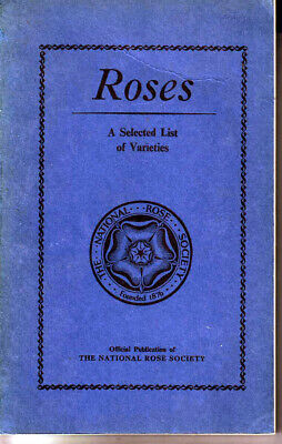 The National Rose Society Annual 1961