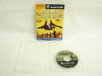 Jeu Cube Star Wars The Clone War Non Instruction Ccnc Nintendo Japon Emballé Gc