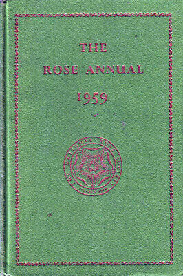 The National Rose Society Annual 1959
