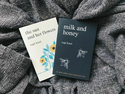 Milk and Honey & The Sun and Her Flowers by Rupi Kaur [P.D.F]✅New Version