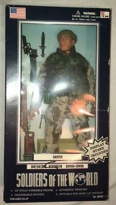 Sniper Soldiers of the World Desert Storm 1990-1991 NIB Free Shipping