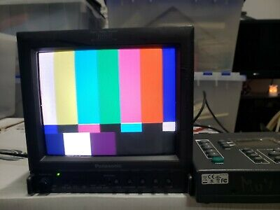 Panasonic Color Video Monitor BT-S901YN (Professional Broadcast Retro Gaming)