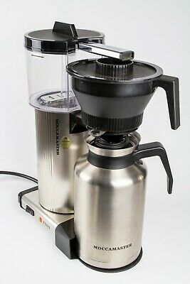 Moccamaster by Technivorm CDT Grand Thermal Coffeemaker Brushed Silver