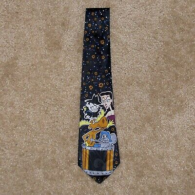 Rocky and Bullwinkle Neck Tie Boris and Natasha - Fathers Day Gift
