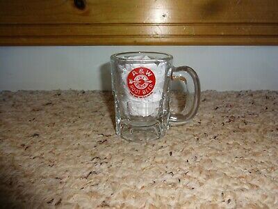 "Vintage A & W Root Beer Baby Miniature Mug 3 1/4"" Estate Find Ice Cold Arrow"