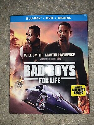 Bad Boys For Life ( Blu-ray + DVD + Digital )