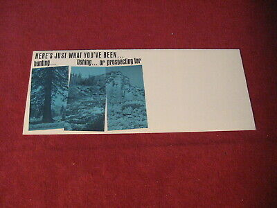 1964? Toyota Land Cruiser Sales Brochure Booklet Catalog Old Original Book