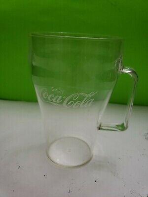 Coca Cola 32 oz Mug, clear plastic