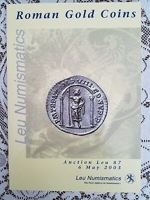 Fantastic Roman GOLD COIN Auction Perfectionist Collection 2003 Leu 87