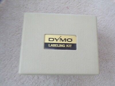 Vtg Dymo Labeling Kit