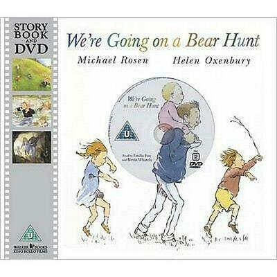 We're Going on a Bear Hunt by Michael Rosen Book & Merchandise Book Free Shippin