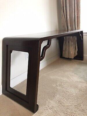 Contemporary Chinese Partner's Desk Elm Wood Furniture Hebei China