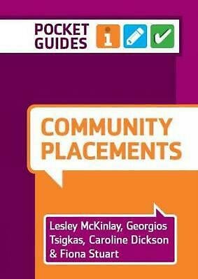 Community Placements: A Pocket Guide by Lesley Mckinlay (English) Spiral Book Fr