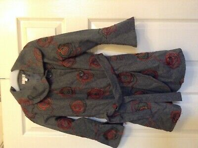'Girls Boutique' Stunning Girls Winter Coat Jacket with Belt Age 7-8 Years
