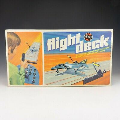 Vintage 1970's Airfix - Flight Deck - Fighter Jet Aircraft Carrier Landing Game