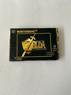 The Legend Of Zelda Ocarina Of Time N64 Nintendo 64