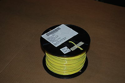 Mil Spec Wire M22759/11-12-4  Silver Plated 12 Awg  100 Feet Yellow New