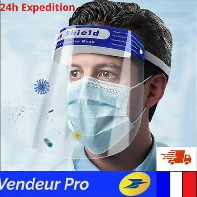 Visière De Protection Anti Goutelette postillon Masque anti-projection En Mousse