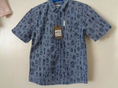 Ben Sherman Bugs Summer Shirt Age 11-12 years BNWT