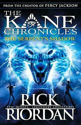 Serpent's Shadow (The Kane Chronicles Book 3) by Rick Riordan (English) Paperbac
