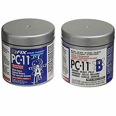 PC-Products PC-11 Epoxy Adhesive Paste, Two-Part Marine 1/2 lb in Two Cans