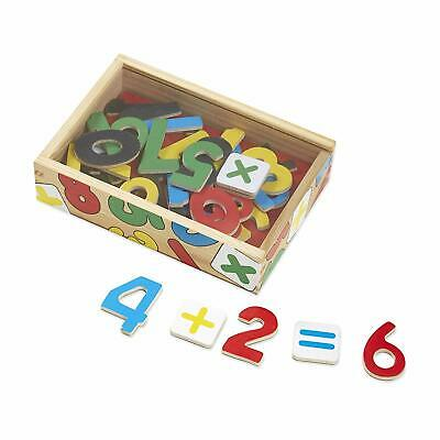 Melissa & Doug: Magnetic Wooden Numbers - Brand New