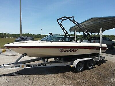 2001 Malibu Response LX Good condition Low hours w/tower and trailer.