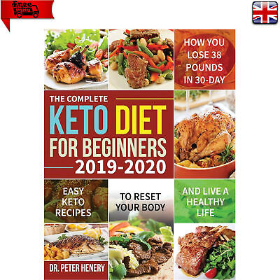 Keto Diet Book For Beginners Easy Healthy Ketogenic Recipes Cookbook Paperback