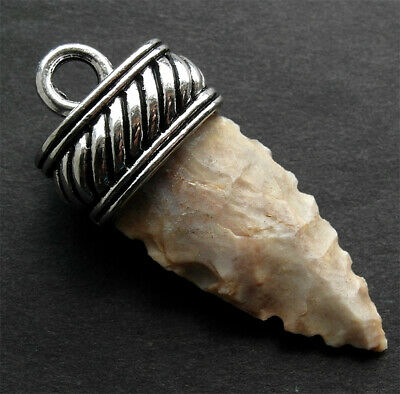 BEAUTIFUL NEOLITHIC FLINT ARROW HEAD ELF-SHOT - wearable